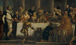 The Wedding at Cana, ca. 1562 by Paolo Veronese