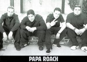 Papa Roach (Group, B&W) Music Poster Print