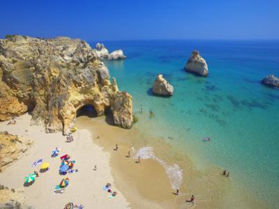 Beach at Lagos, Algarve, Portugal, Europe
