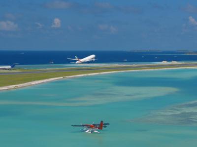 Male International Airport, Maldives, Indian Ocean