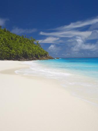 Sandy Beach, Seychelles, Indian Ocean, Africa