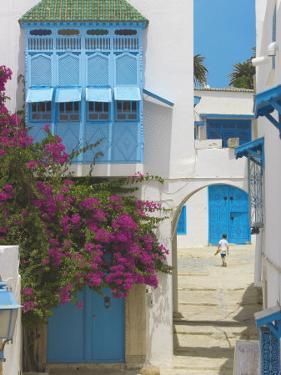 Sidi Bou Said, Tunisia, North Africa, Africa by Papadopoulos Sakis