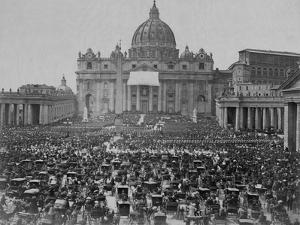 Papal Benediction at St. Peter's Basilica