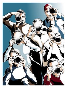Paparazzi with Cameras