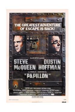 Papillon, Steve Mcqueen, Dustin Hoffman, 1973