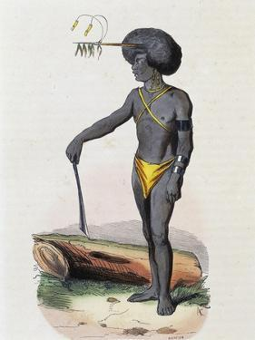 Papuans from Porto Dory (New Guinea)