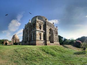 Delhi - Lodhi Gardens Tombs by par Etienne Cazin