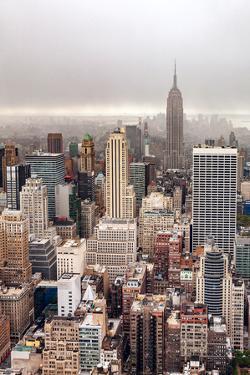 Foggy day in Manhattan by Par Soderman