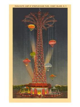 Parachute Jump Ride, Coney Island, New York City