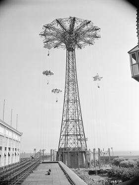 Parachute Ride at Coney Island