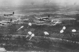 Parachutists in Training