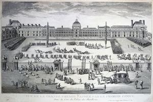 Parade of the Troops During the Grand Parade, Tuileries Palace, 19th Century