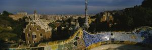Parc Guell, Barcelona, Catalonia, Spain