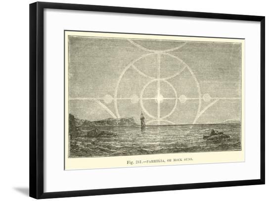 Parhelia, or Mock Suns--Framed Giclee Print