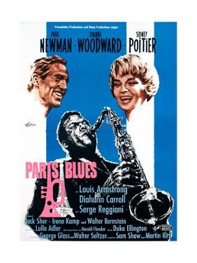 Paris Blues, from Left, Paul Newman, Sidney Poitier, Joanne Woodward, 1961