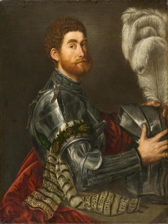 Portrait of a Man in Armour, c.1535-1540