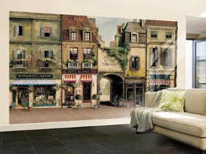Paris Café Huge Mural Art Print Poster
