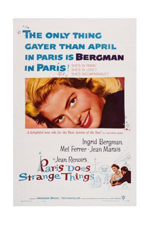 Paris Does Strange Things, (Aka Elena and Her Men), Ingrid Bergman, 1956