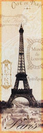 Paris Eiffel Tower Stamps