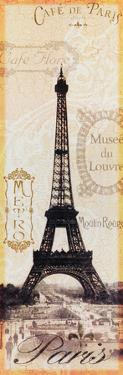 Paris Eiffel Tower Stamps