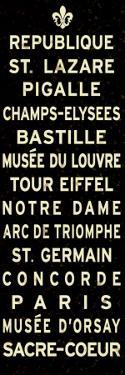 Paris Fleur de Lis Sign