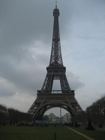 Paris, France (Eiffel Tower) Art Poster Print