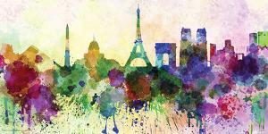 Paris- In Watercolor