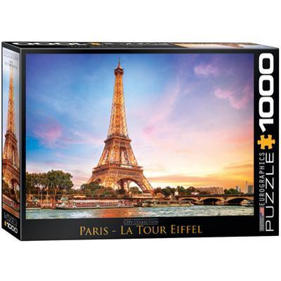 Paris La Tour Eiffel 1000 Piece Puzzle