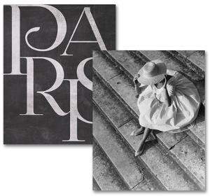 Paris Noir Art Print Set