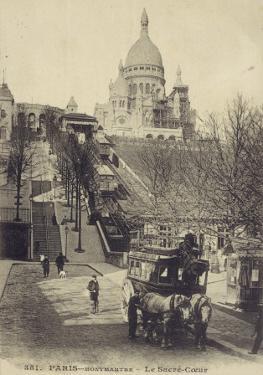 Paris, Sacre Coeur 1907