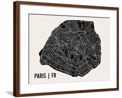 Paris-Mr City Printing-Framed Art Print