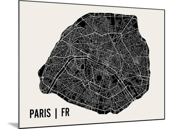 Paris-Mr City Printing-Mounted Print