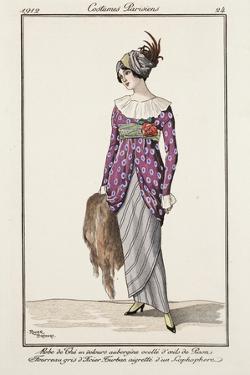 Parisian Costume Illustration