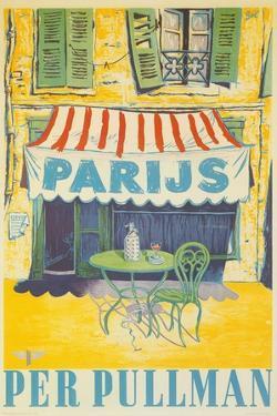 Parisian Outdoor Cafe, Per Pullman