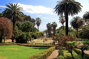 Park of the Villa Nobel in San Remo, Province of Imperia, Liguria, Italy