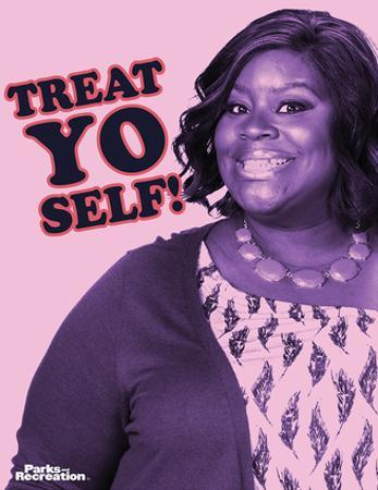 Parks And Recreation- Donna Treat Yo Self