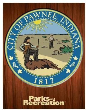 Parks And Recreation- Pawnee Seal
