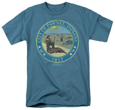 Parks & Rec-Distressed Pawnee Seal