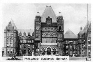 Parliament Buildings, Toronto, Ontario, Canada, C1920S