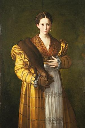 Anteas Portrait (Portrait of Young Woman) by Parmigianino