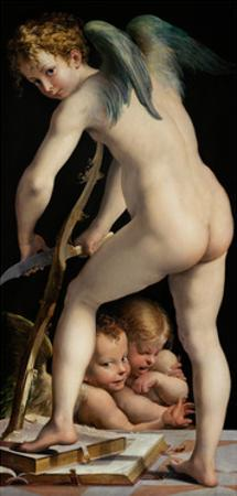 Bow-Carving Cupid, Between 1534 Und 1540