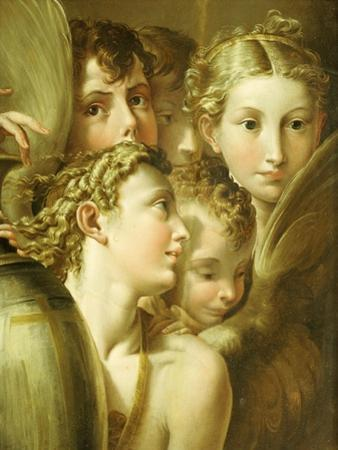 Five Angels by Parmigianino