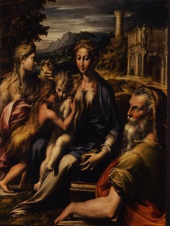 Madonna and Child with Saint (Madonna Di San Zaccari), C.1535