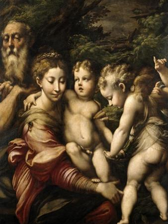 Madonna and Child with Saints, Ca. 1524 by Parmigianino