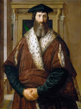Portrait of a Man (Malatesta Baglion), C.1535 by Parmigianino