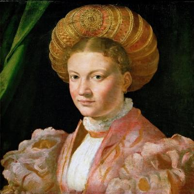 Portrait of a Young Lady, Ca 1530 by Parmigianino