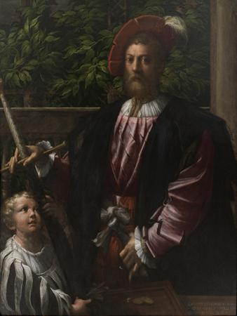 Portrait of Lorenzo Cybo, 1523
