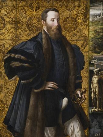Portrait of Pier Maria Rossi Di San Secondo by Parmigianino