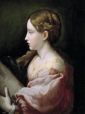 Saint Barbara by Parmigianino