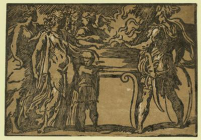 The Sacrifice, Between Ca. 1520 and 1700